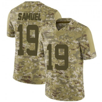 Men's San Francisco 49ers Deebo Samuel Camo 2018 Salute to Service Jersey - Limited