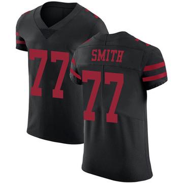 Men's Nike San Francisco 49ers Ray Smith Black Alternate Vapor Untouchable Jersey - Elite