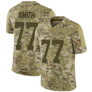 Men's Nike San Francisco 49ers Ray Smith Camo 2018 Salute to Service Jersey - Limited