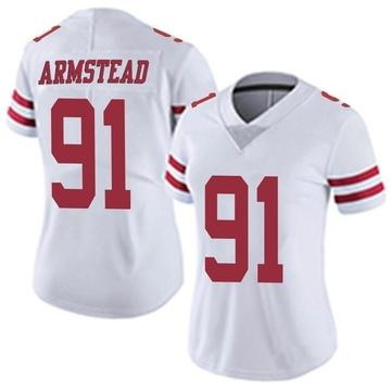 Women's Nike San Francisco 49ers Arik Armstead White Vapor Untouchable Jersey - Limited