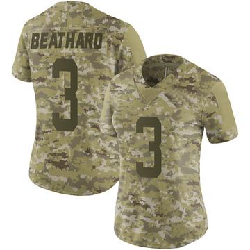 Women's Nike San Francisco 49ers C.J. Beathard Camo 2018 Salute to Service Jersey - Limited