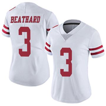 Women's Nike San Francisco 49ers C.J. Beathard White Vapor Untouchable Jersey - Limited