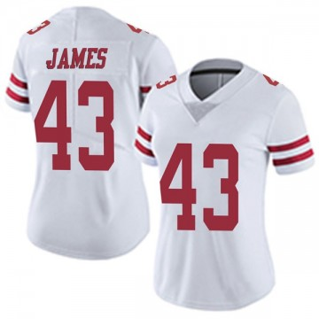 Women's Nike San Francisco 49ers Chanceller James White Vapor Untouchable Jersey - Limited