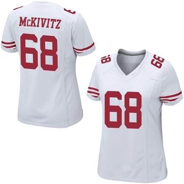 Women's Nike San Francisco 49ers Colton McKivitz White Jersey - Game
