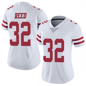 Women's Nike San Francisco 49ers D.J. Reed White Vapor Untouchable Jersey - Limited
