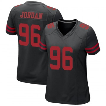 Women's Nike San Francisco 49ers Dion Jordan Black Alternate Jersey - Game