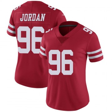 Women's Nike San Francisco 49ers Dion Jordan Red Team Color Vapor Untouchable Jersey - Limited