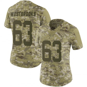 Women's Nike San Francisco 49ers Ethan Westbrooks Camo 2018 Salute to Service Jersey - Limited