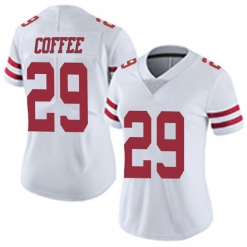 Women's Nike San Francisco 49ers Glen Coffee Coffee White Vapor Untouchable Jersey - Limited