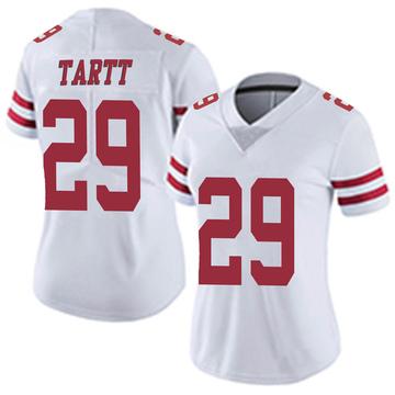 Women's Nike San Francisco 49ers Jaquiski Tartt White Vapor Untouchable Jersey - Limited