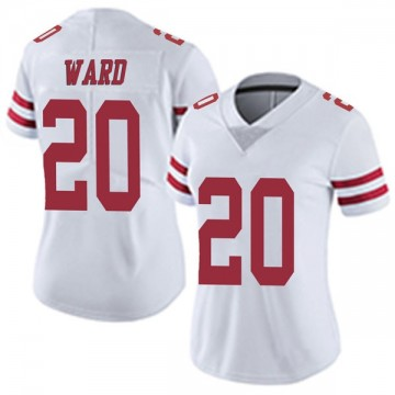Women's Nike San Francisco 49ers Jimmie Ward White Vapor Untouchable Jersey - Limited
