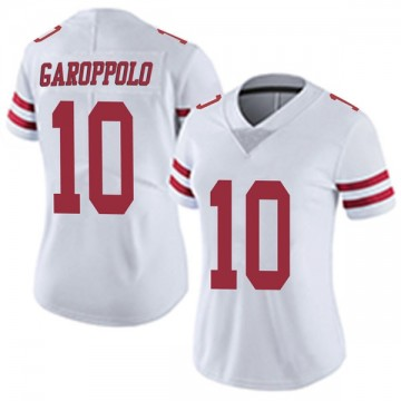 Women's Nike San Francisco 49ers Jimmy Garoppolo White Vapor Untouchable Jersey - Limited