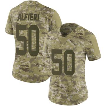 Women's Nike San Francisco 49ers Joey Alfieri Camo 2018 Salute to Service Jersey - Limited