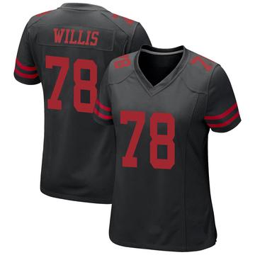 Women's Nike San Francisco 49ers Jordan Willis Black Alternate Jersey - Game