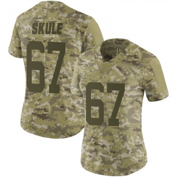 Women's Nike San Francisco 49ers Justin Skule Camo 2018 Salute to Service Jersey - Limited