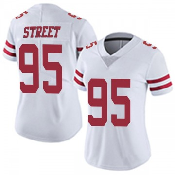 Women's Nike San Francisco 49ers Kentavius Street White Vapor Untouchable Jersey - Limited