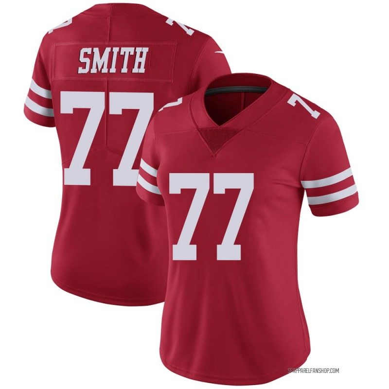 Women's Nike San Francisco 49ers Ray Smith Scarlet 100th Vapor Jersey - Limited