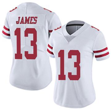 Women's Nike San Francisco 49ers Richie James White Vapor Untouchable Jersey - Limited