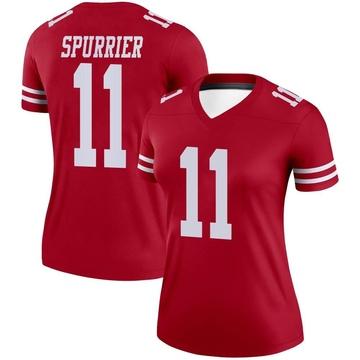 Women's Nike San Francisco 49ers Steve Spurrier Scarlet Jersey - Legend