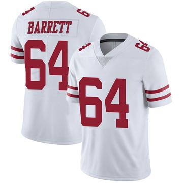 Youth Nike San Francisco 49ers Alex Barrett White Vapor Untouchable Jersey - Limited