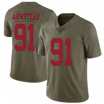 Youth Nike San Francisco 49ers Arik Armstead Green 2017 Salute to Service Jersey - Limited