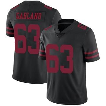 Youth Nike San Francisco 49ers Ben Garland Black Alternate Vapor Untouchable Jersey - Limited