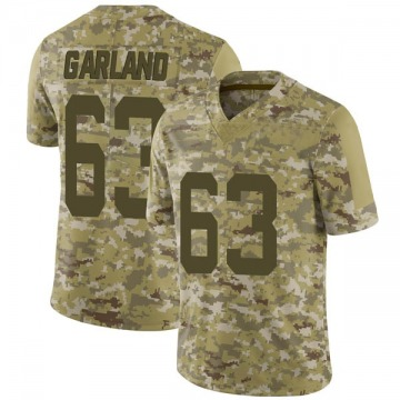 Youth Nike San Francisco 49ers Ben Garland Camo 2018 Salute to Service Jersey - Limited