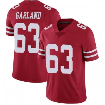 Youth Nike San Francisco 49ers Ben Garland Red Team Color Vapor Untouchable Jersey - Limited