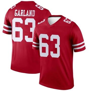 Youth Nike San Francisco 49ers Ben Garland Scarlet Jersey - Legend