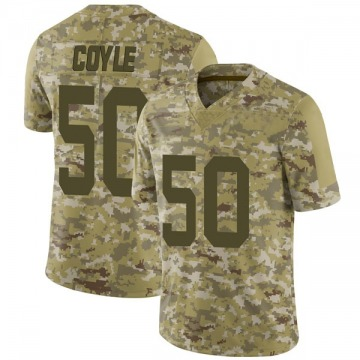 Youth Nike San Francisco 49ers Brock Coyle Camo 2018 Salute to Service Jersey - Limited