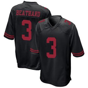 Youth Nike San Francisco 49ers C.J. Beathard Black Alternate Jersey - Game