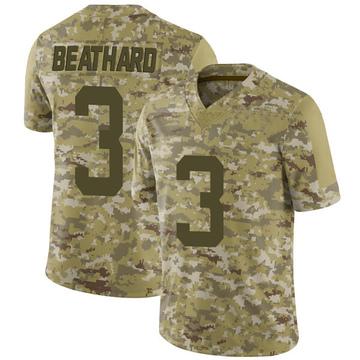Youth Nike San Francisco 49ers C.J. Beathard Camo 2018 Salute to Service Jersey - Limited