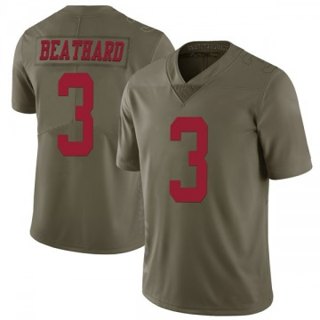 Youth Nike San Francisco 49ers C.J. Beathard Green 2017 Salute to Service Jersey - Limited