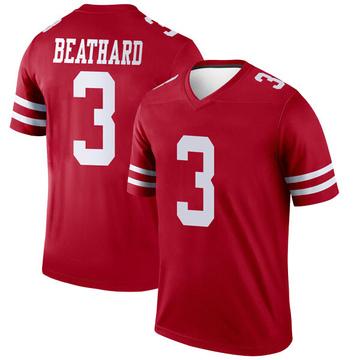 Youth Nike San Francisco 49ers C.J. Beathard Scarlet Jersey - Legend