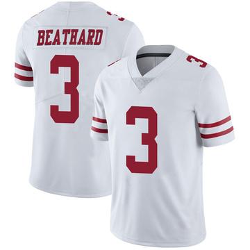 Youth Nike San Francisco 49ers C.J. Beathard White Vapor Untouchable Jersey - Limited