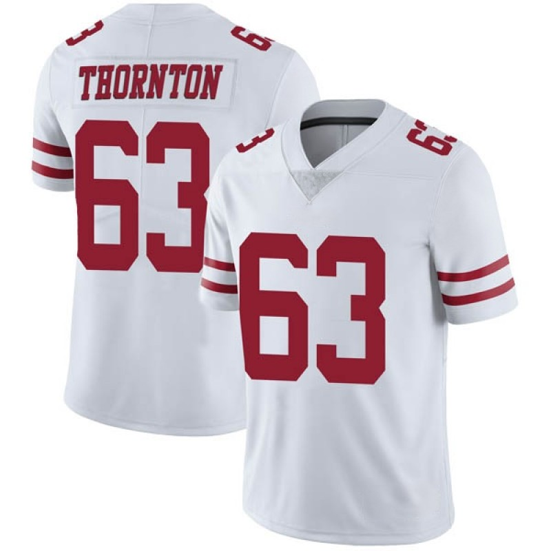 new styles 4514e a9b91 Youth Nike San Francisco 49ers Cedric Thornton White Vapor Untouchable  Jersey - Limited