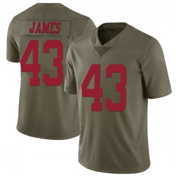 Youth Nike San Francisco 49ers Chanceller James Green 2017 Salute to Service Jersey - Limited