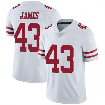 Youth Nike San Francisco 49ers Chanceller James White Vapor Untouchable Jersey - Limited