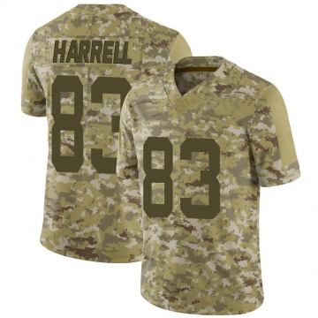 Youth Nike San Francisco 49ers Chase Harrell Camo 2018 Salute to Service Jersey - Limited
