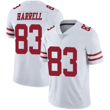 Youth Nike San Francisco 49ers Chase Harrell White Vapor Untouchable Jersey - Limited