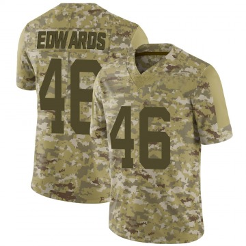Youth Nike San Francisco 49ers Chris Edwards Camo 2018 Salute to Service Jersey - Limited