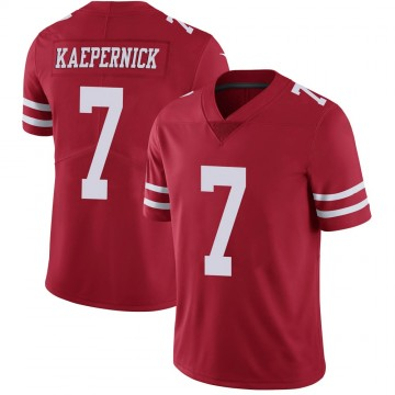 Youth Nike San Francisco 49ers Colin Kaepernick Scarlet 100th Vapor Jersey - Limited