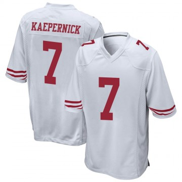 Youth Nike San Francisco 49ers Colin Kaepernick White Jersey - Game