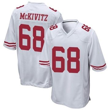 Youth Nike San Francisco 49ers Colton McKivitz White Jersey - Game