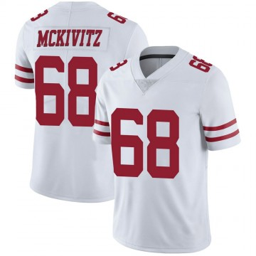Youth Nike San Francisco 49ers Colton McKivitz White Vapor Untouchable Jersey - Limited