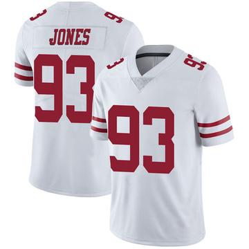 Youth Nike San Francisco 49ers D.J. Jones White Vapor Untouchable Jersey - Limited