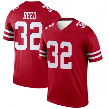 Youth Nike San Francisco 49ers D.J. Reed Scarlet Jersey - Legend
