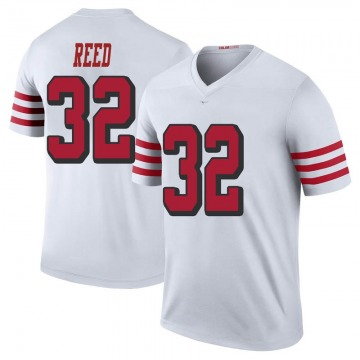 Youth Nike San Francisco 49ers D.J. Reed White Color Rush Jersey - Legend