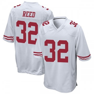 Youth Nike San Francisco 49ers D.J. Reed White Jersey - Game