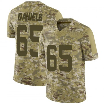 Youth Nike San Francisco 49ers Darrion Daniels Camo 2018 Salute to Service Jersey - Limited